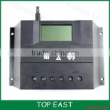 50A 60A 80A 12V 24V 48V automatic recognition solar charge controller