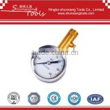 Dual-Head Chuck Dial Tire Gauge TG-009