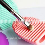 Cleaning cosmetic makeup washing brush egg silicone makeup brush cleaner