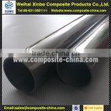 China carbon fiber idler rollers conveyor roller using for reduced weight and high critical speed