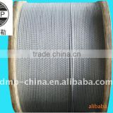 hot dipped galvanized steel wire rope 4x25Fi+FC,4x31SW+FC,6x19W+IWS,6x19S+IWS high tensile strength