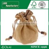 Customized Faux Suede Bag Drawstring with logo printing,drawstring bag with locking toggle
