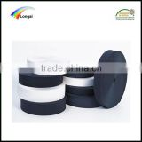 100% polyester Black/white strong elastic webbing elastic woven band for garment