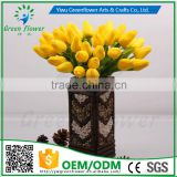 Wedding,Home, Wedding Decoration, Party Occasion and Decorative Flowers & Wreaths Type Handmade PU latex artificial mini tulip