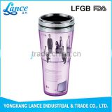 Camping Stainless Steel Thermal Mug design your own paper coffee cup bottles with pressing lid and handle manufacturer