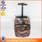 2016 China Factory Best Designer Trolley Bag Backpack Brown Color Ladies Laptop Trolley Bag Cover
