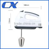 100W 7 Speed Mini Hand mixer With Dough Hooks