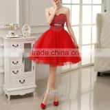 Best Quality Sleeveless Wholesale Girls Elegant short corset prom dress                                                                         Quality Choice
