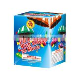 20 shots parachute fireworks with slogan GD7065/chinese fireworks for sale/fireworks and firecracker