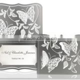 Special design stainless steel wedding invitation card/metal business card                                                                                                         Supplier's Choice