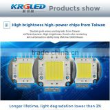 Plastic led flood light 50W grey shell led module