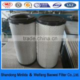 K2436 air filter hepa for heavy truck