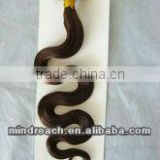 "Wholesale top quality 22""4# body wave Brazilian virgin micro loop hair extension for salon hair stylist, accept escrow"