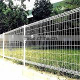 Galvanized and PVC coated triangle bend weld wire fence/wire mesh netting (manufacturer)