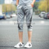 fashion and top quality 3/4 men's short pants with low price in wholesale custom jogger pants and sports half pants
