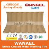 Wanael hail-resistance lightweight stone-coated metal roof tile/outdoor stage roof truss