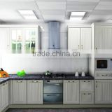 melamine board luxury kitchen cabinet / L shape kitchen cabinets/modern kitchen cabinet set