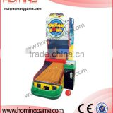 indoor amusement game machine / electronic bowling game machine / coin operated game machine