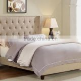 HOT SELLING American Style New Design Fabric Bed Room Furntiure with Bed Frame MB8012,