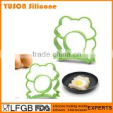 Food grade cute siliconen rubber fried egg cook ring