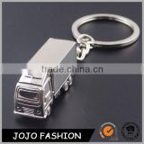 Factory Price 925 Silver Jewelry Stainless Steel Truck Keychain