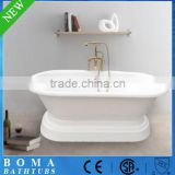 White Cheap Freestanding Baby Bath Tub With Stand