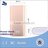Shenzhen Factory Directly 20000mah Dual USB Battery Pack Portable Power Bank