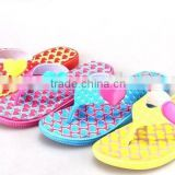newest top quality colorful ladies fashion shoes Fancy girls nude beach slippers