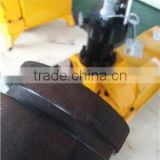 Electrical pipe groove making machine from SUNTECH with spare parts pinch roll and knurl wheel