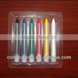 2015 lanxi colorlutions non toxic bath paraffin crayon