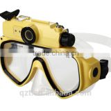 HD 720P sport camera Snorkelling Scuba-Diving Mask Glasses Camera waterproof sunglasses camera under water to 30M