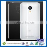 C&T Ultra-thin Back Cover Clear Plain Clear TPU Rubber Skin Case for XIAOMI RedMI Note 2