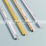 Aluminium tile trim profile,aluminum ceramic tile trim corner edge