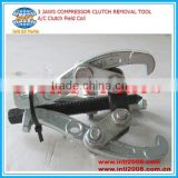 3 JAWS COMPRESSOR CLUTCH REMOVAL TOOL/A/C Clutch Field Coil/Heavy Duty Reversible 3 Jaw Combination Gear Puller T75917 T75918