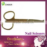 Manicure scissor NC017/finger nail scissors/ safety baby nail scissors