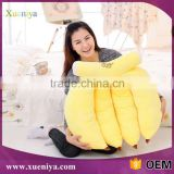 Soft cotton toys cartoon funny banana plush fruit toys