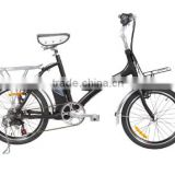 250W Christmas promotion 20 inch folding mini e bike motor bike for sale with SHIMANO 6 speed