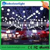 alibaba hot sale colorful kinetic system balls lights dmx winch