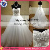 strapless sweetheart nekline rhinestone beaded sequin wedding dresses