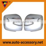 Chrome auto accessories car side mirror cover for toyota hiace