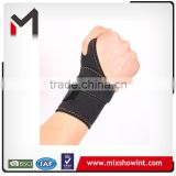 Factory supply neoprene adjustable bowling wrist support
