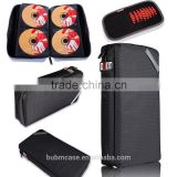 BUBM Portable Blu-ray CD Case CD Box DVD Case CD Holder 64 pcs CD Storage & Visor CD Case Color Black