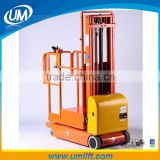 Best Selling Full Elecrric 300kg Loading Hydraulic Aerial Work Platform Lifting Machinery For Lifting 6m