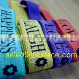 Colorful Elastic with Letter Prints