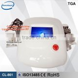 Best effect! ultrasonic cellulite treatment cavitation slimming system with 5 treatment head
