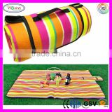 E287 Waterproof Moisture-proof Camping Blanket Pad Rug Beach Outdoor EPE Mat Picnic Rug with Tote