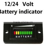 12v /24v universal volt battery indicator