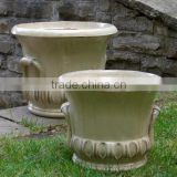 beautiful cup planters, indoor outdoor pottery