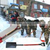 2013 new painted TUV/GS standard fiberglass poly grip S512D snow, fire and garden shovel with fiberglass and wooden handle