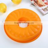 Fluted Bundt Cake Silicone Mold Cake Round Pan Unique Cake Pans